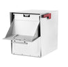 Architectural Oasis Jr Mailbox White Delivery Door Out Going