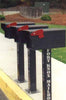 Fort Knox Large Standard Mailbox Surface Mount Post