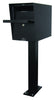 Jayco Light Duty Letter Locker Black Open Post LTD