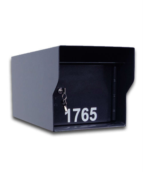M1-LT Fort Knox Mailbox Black