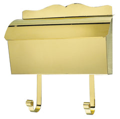 Provincial Collection Brass Mailboxes Roll Top With Newspaper Hooks