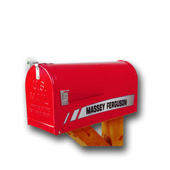 Massey Ferguson Rural Post Mount Mailbox RMB-MF