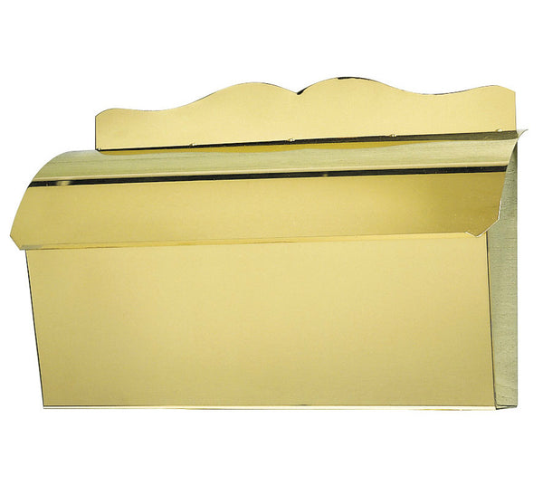 Provincial Collection Brass Mailboxes Roll Top With