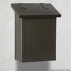 Americas Finest Classic  Vertical Wall Mount Mailbox Architectural Bronze (BZ)