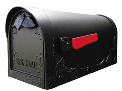 Special Lite Floral Post Mount Mailbox