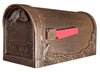 Special Lite Floral post mount mailbox Copper SCF-1003-CP