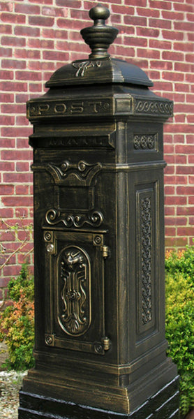 Ecco Bronze Tower Mailbox E8
