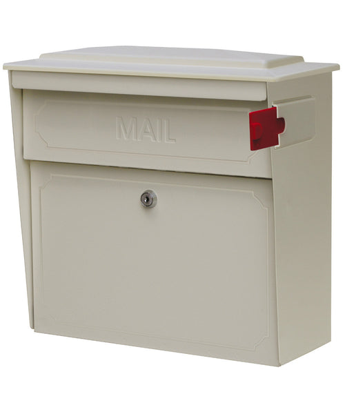 White Towhouse Mail Boss Mailbox