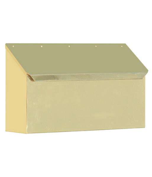 Provincial Collection Brass Mailboxes Horizontal With