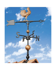 "Whitehall 30"" Full-Bodied Traditional Directions Rooster Weathervane"