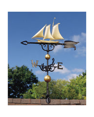 "Whitehall 46"" Traditional Directions Yacht Weathervane"
