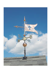 "Whitehall Copper Banner 53"" Weathervane"
