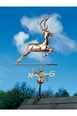 "Whitehall Copper Deer 52"" Weathervane"