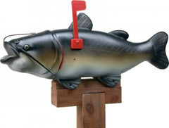 Rivers Edge Catfish (Mr Wiskers) Mailbox