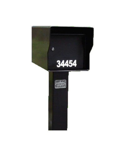 Fort Knox Large Standard Mailbox Black LGSTD