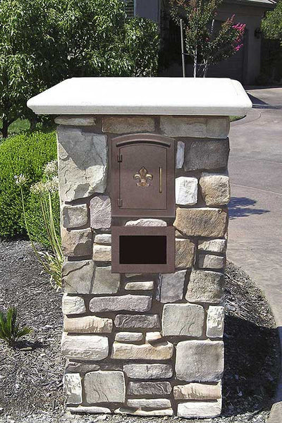 Manchester Mailbox Column Mount Non Locking Mailbox Big Box