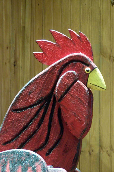 Pine Hill Woodcrafts Red Rooster Mailbox Mailbox Big Box
