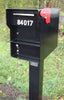 Fort Knox Mailbox Senator Black with post