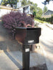 Fort Knox Small Standard Mailbox Black Side Profile SMSTD