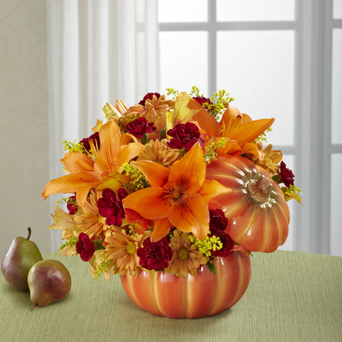 Bountiful Pumpkin - Daisy Chain Design Studio