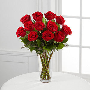 Red Rose Bouquet - Daisy Chain Design Studio