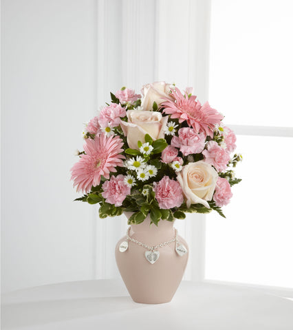 "It's a Girl ""Mother's Charm Bouquet"" - Daisy Chain Design Studio"