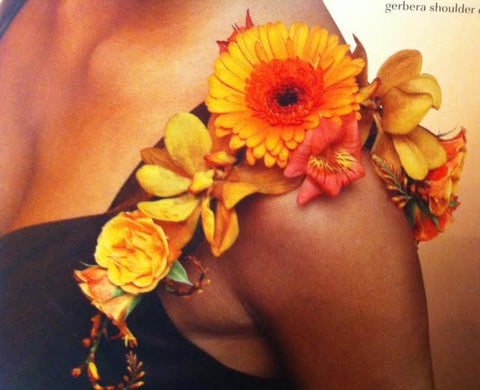 Shoulder Corsage - Daisy Chain Design Studio