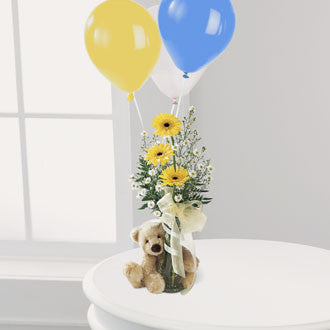 Welcome Bear - Daisy Chain Design Studio