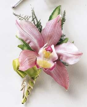 The Orchid Boutonniere - Daisy Chain Design Studio