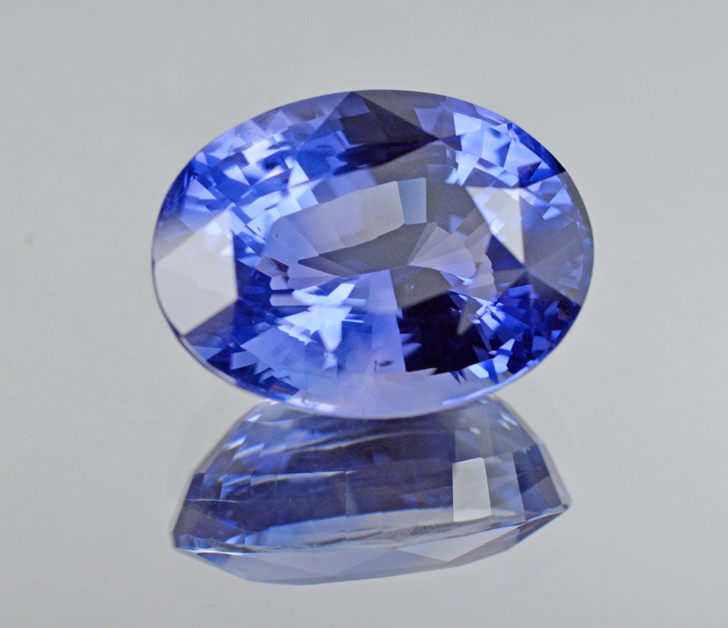 19.52 Carat Natural Unheated Sapphire  in Corn Flower Blue Color