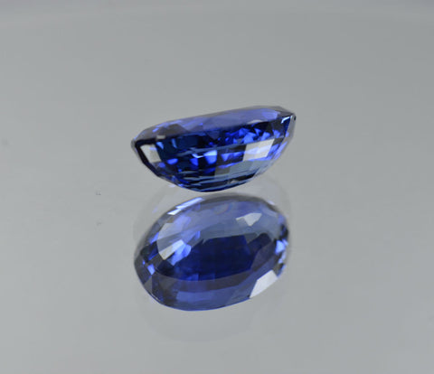 Natural blue sapphire from Sri Lanka