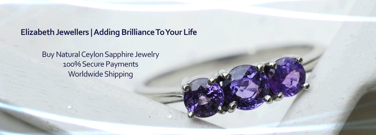 Natural Ceylon Sapphire Rings Available At Elizabeth Jewellers in Sri Lanka