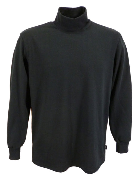 J703 Men's polo neck shirt, long sleeve.