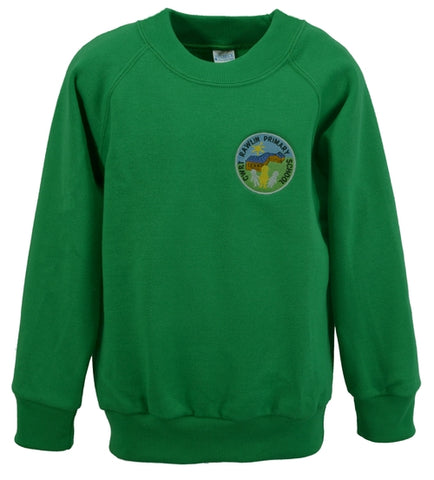 W10 Cwrt Rawlin School Child's Sweatshirt