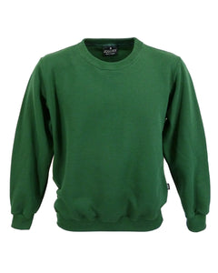 Forest green sweatshirt, made in UK