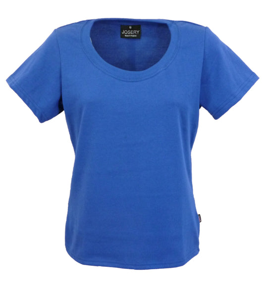 Royal T-Shirt, women's slightly fitted style, made in UK