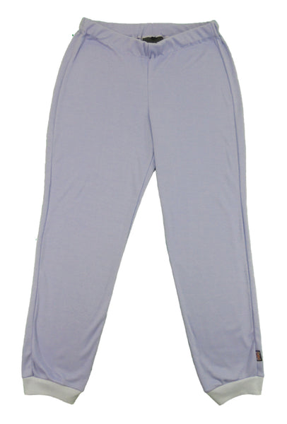 Women's lounge pants, lilac, made in England