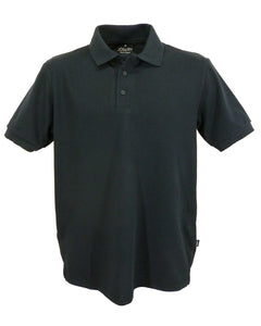 plain black polo shirt, Made in England