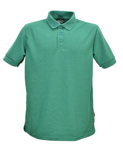 Bottle Green Polo Shirt, Made in England