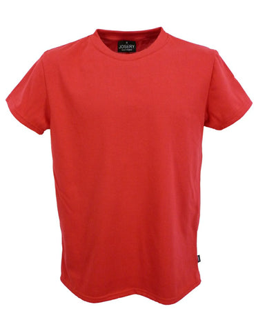 Men's red T-Shirt, made in UK