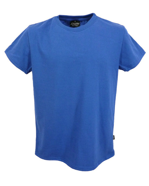 Men's royal blue T-Shirt, British Made