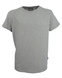 J706 Men's Grey Marl T-Shirt, Classic neckline, discounted offer & FREE UK delivery.