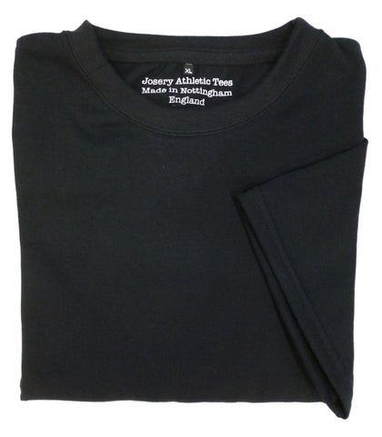 Black Josery Athletic branded T-Shirt, made in England