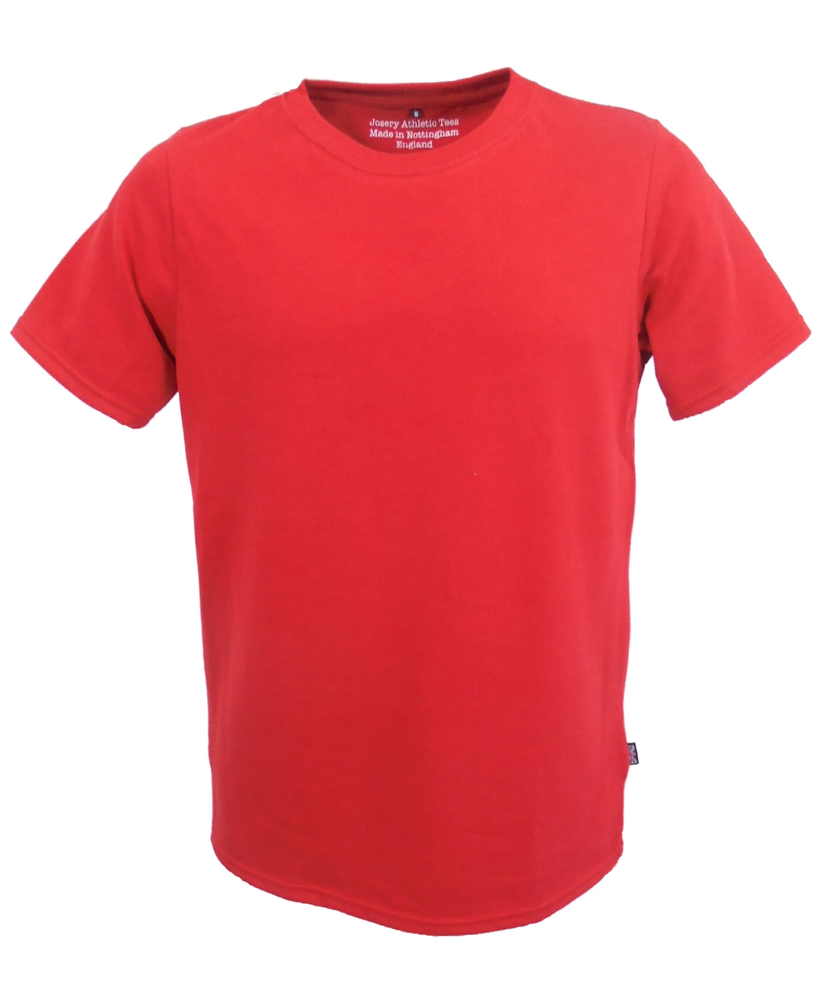 Red T-Shirt, athletic collection, made in England