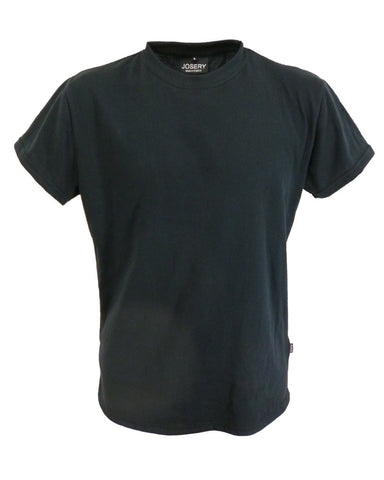 Men's black slim fit t-shirt, made in England