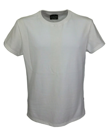 Men's white slim fit T-Shirt, British Made