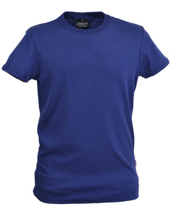 Navy slim fit T-Shirt, made in England