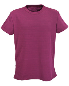 Sale Item: J779 Men's Slim Fit rib T-Shirt - Maroon