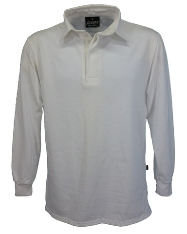J790 White Rugby Shirt