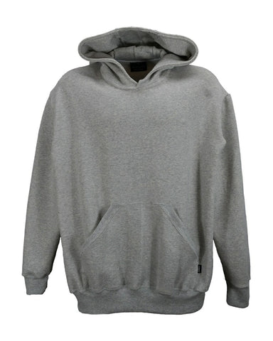 Grey Marl hooded sweatshirt, men's style, made in england.